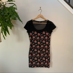 Forever 31 floral bodycon dress